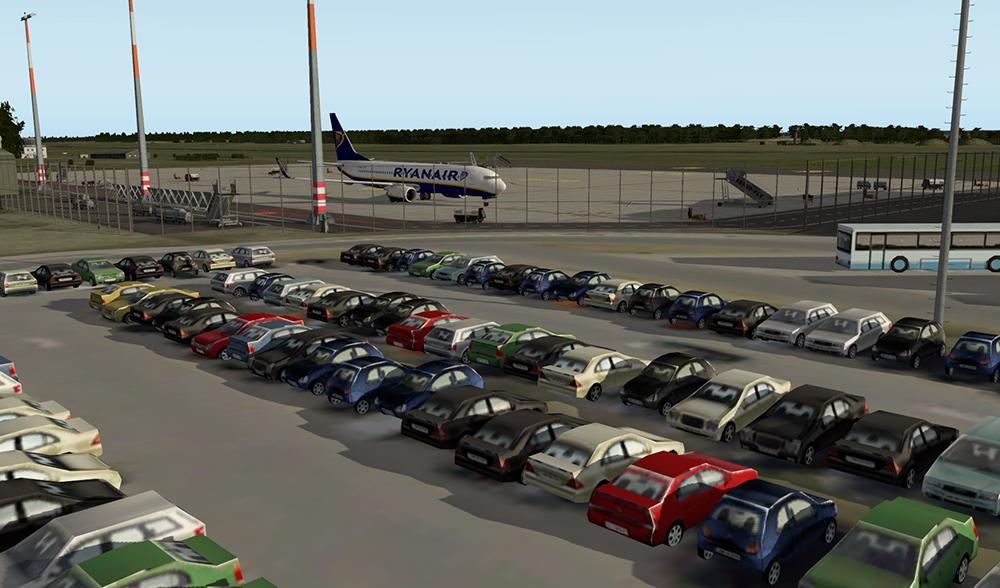 weeze airport parkeren